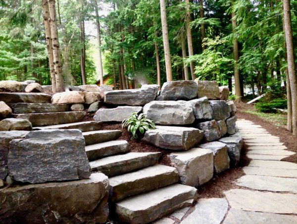 house landscape design parry sound