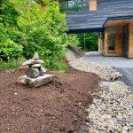 parry sound house landscape design